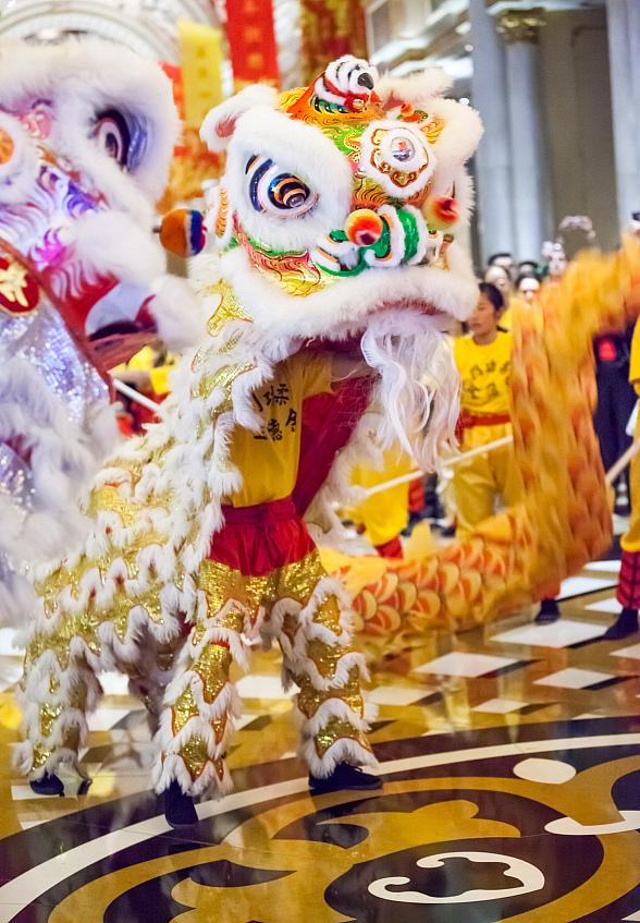 The Venetian and The Palazzo Usher in the Year of the Horse in Magnificent Style