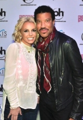 "Lionel Richie at ""Britney: Piece of Me"" at Planet Hollywood Resort & Casino"