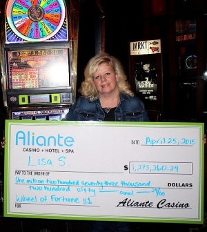 Las Vegas woman wins $1 Million at Aliante Casino + Hotel + Spa