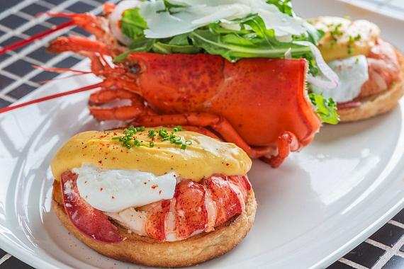 Lobster Benedict at Proper Brunch