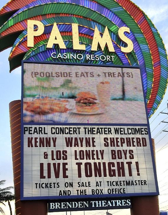 Kenny Wayne Shepherd and Los Lonely Boys at The Palms