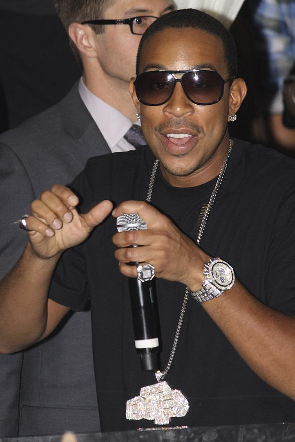Ludacris performs at PURE Nightclub
