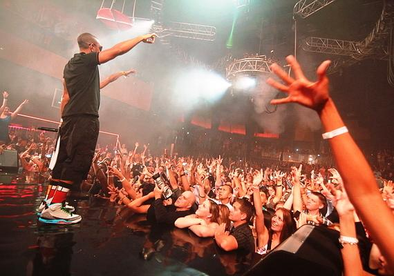 Ludacris performs at Rain Nightclub in Las Vegas