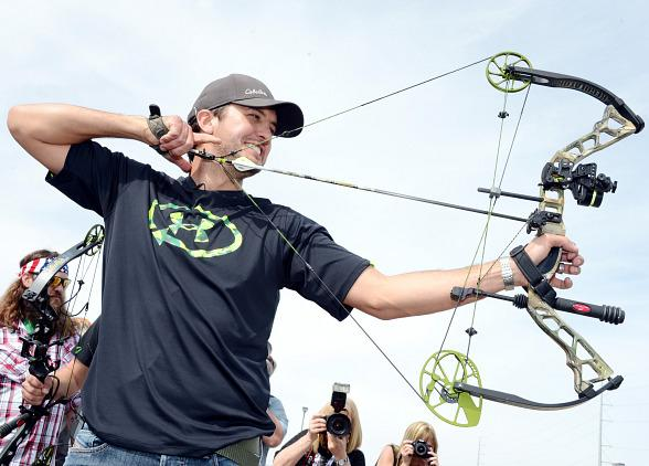 Luke Bryan Hosts ACM & Cabela's Great Outdoors Archery Event in Las Vegas