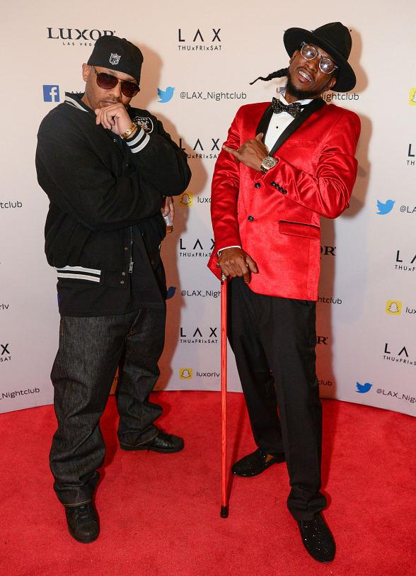Hip-Hip Duo Luniz Rocks the House at LAX Nightclub inside Luxor Hotel and Casino in Las Vegas