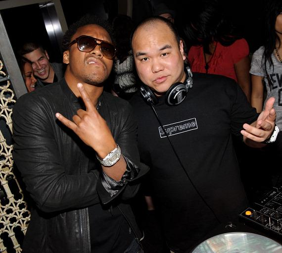 Lupe Fiasco and DJ Five at LAVO