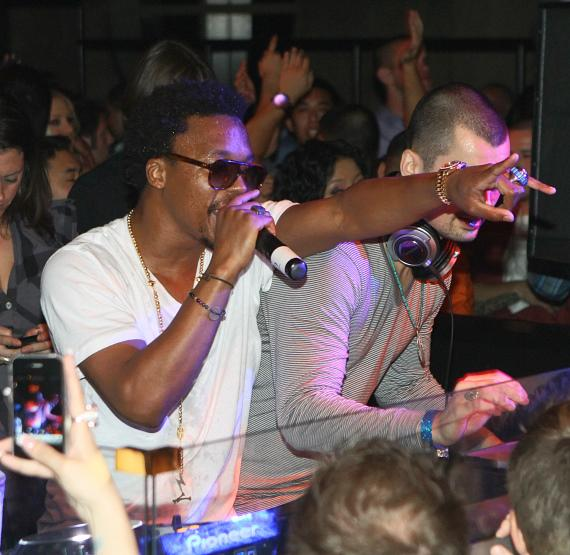 Lupe Fiasco at LAVO