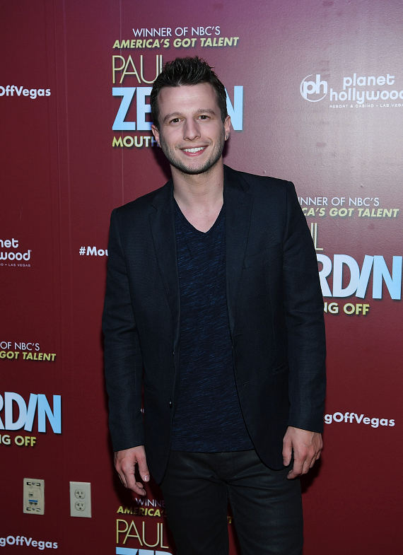 MAGIC REINVENTED NIGHTLY Star Mat Franco at Opening Night of PAUL ZERDIN MOUTHING OFF at Planet Hollywood Resort & Casino