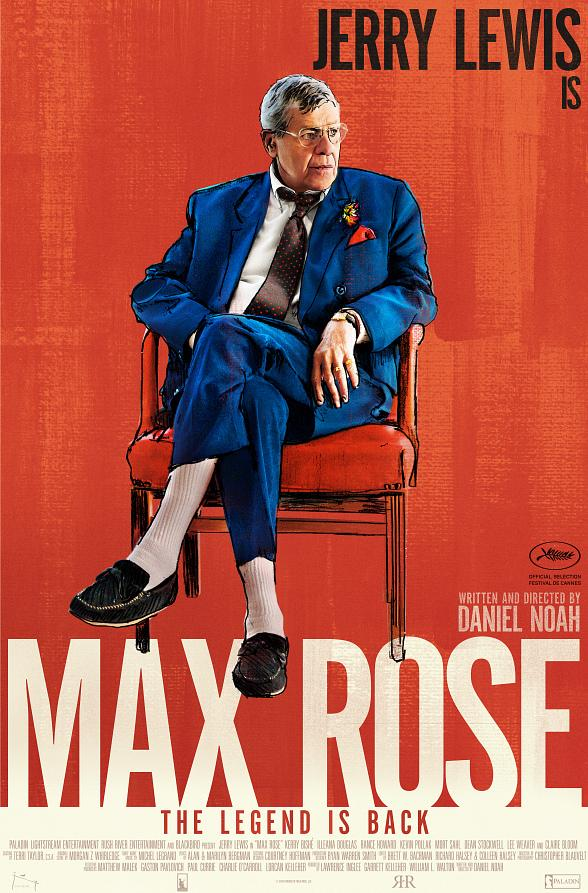 "Jerry Lewis' ""Max Rose"" to Open on September 23rd at Regal Village Square Stadium"