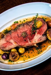 Tis' the Season for Prime Rib at David and Michael Morton's MB Steak in Las Vegas