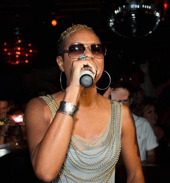 MC Lyte at LAVO