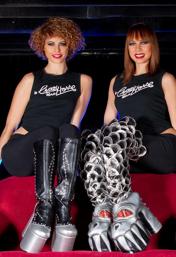 These Boots Are Made For Rockin! Featuring The Beautiful Dancers from MGM Grands Crazy Horse Paris