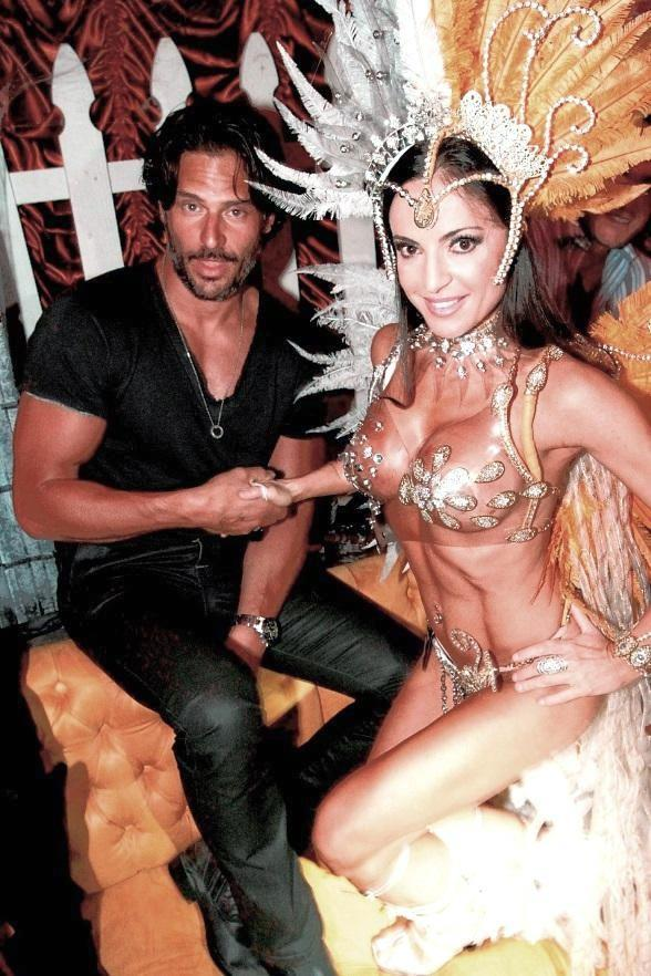 "True Blood Star Joe Manganiello Judges ""Sexiest Costume"" Contest at Surrender Nightclub"