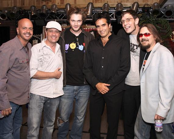Rob Sherwood, Mickey Joseph, Mat Black, David Copperfield, Geechy Guy and Todd Paul