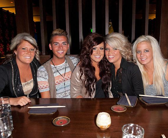 Chelsea Houska with friends at Social House Las Vegas