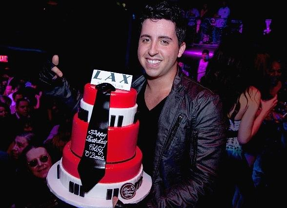 Grammy Nominee Colby O'Donis Performs for Spring Breakers and Celebrates Birthday at LAX Nightclub