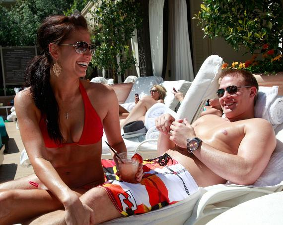 Melissa Rycroft-Strickland Surprises Husband Tye with Birthday Party at The Palazzo