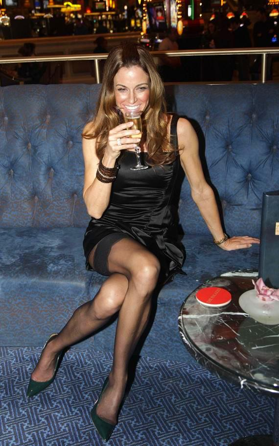 """Real Housewives of NYC"" Kelly Bensimon at The Palazzo"
