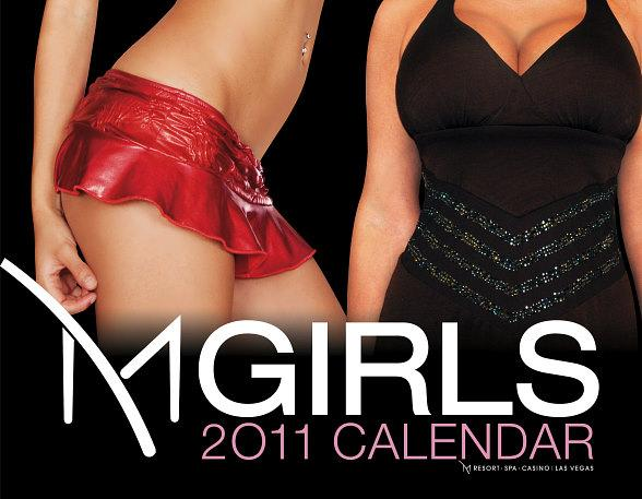 "M Resort Spa Casino Debuts 2011 ""M Girls"" Calendar"