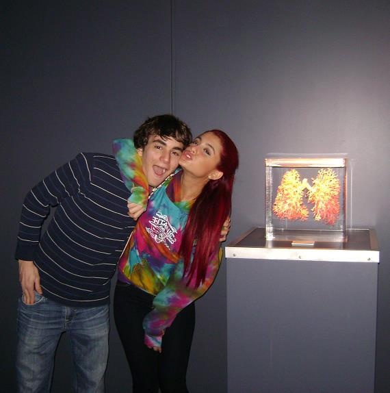 Teen Actress Ariana Grande at BODIES...The Exhibition