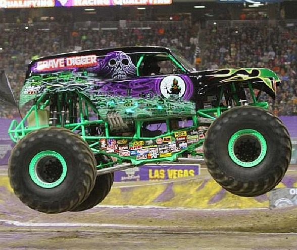 Monster Jam World Finals XVII Rolls into Las Vegas March 17–19 at Sam Boyd Stadium