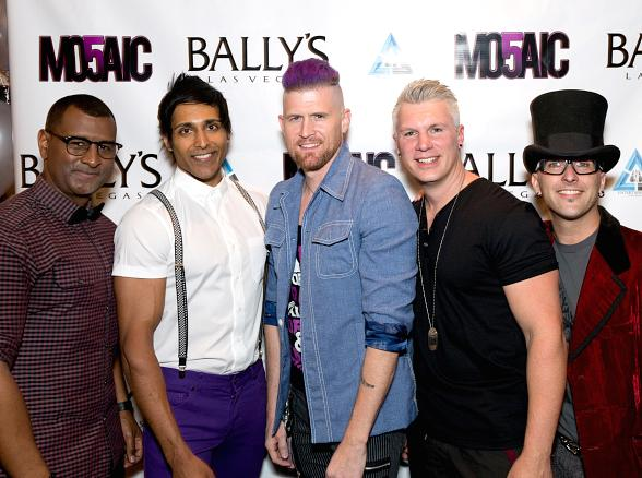 Melody Sweets, Jeff Civillico, Mark Shunock, Ricardo Laguna, George Wallace and more welcome MO5AIC to Bally's Windows Showroom