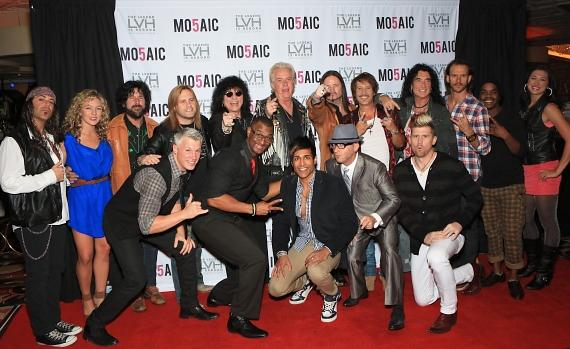 Cast members of Raiding the Rock Vault and MO5AIC