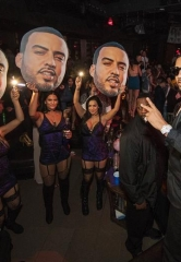 French Montana performs at Marquee Saturday at The Cosmopolitan of Las Vegas