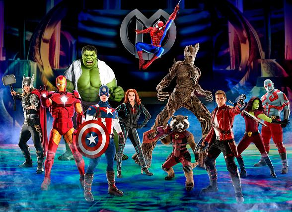"Marvel Universe Live! Announces New Show, ""Age of Heroes"", with Guardians of The Galaxy and Marvel Super Heroes and Villains at Thomas & Mack Center July 27-30"