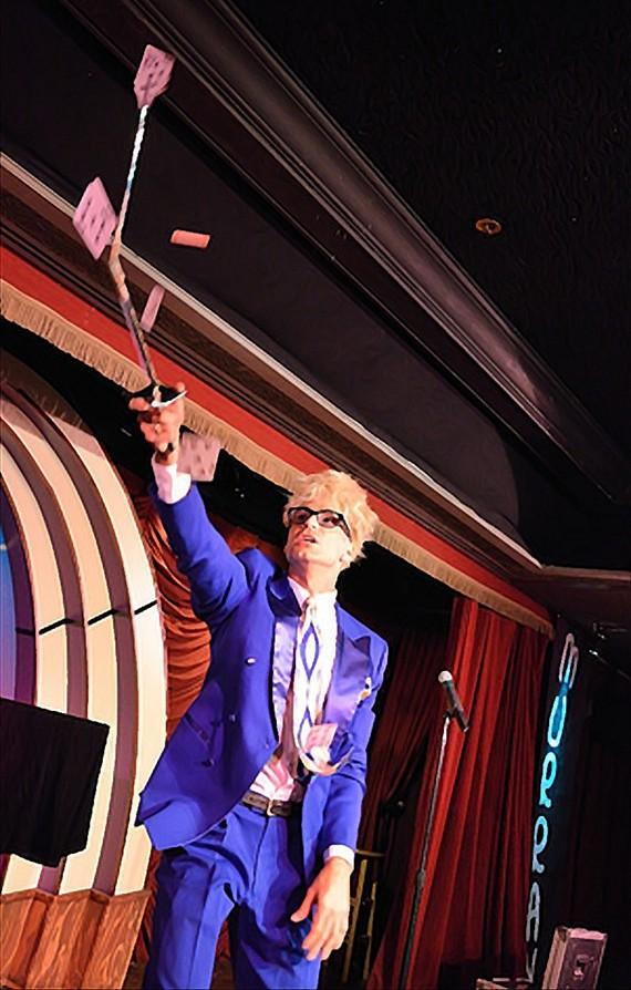 MURRAY 'Celebrity Magician' LIVE at the Tropicana Hotel ...