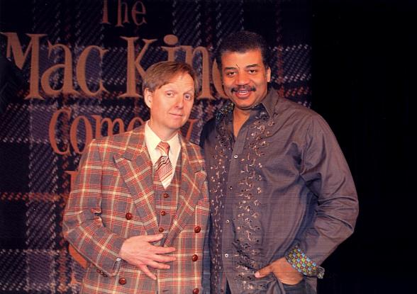 Mac King and host of PBS hit show, NOVA scienceNOW, Neil deGrasse Tyson
