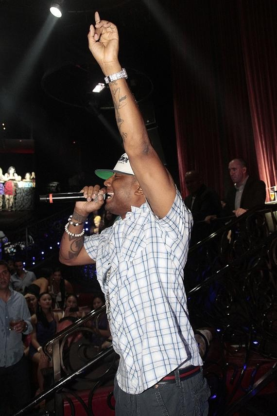 Hip-hop artist Maino performs at LAX Nightclub