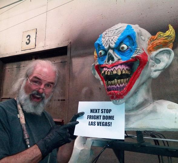 "Travel Channel's ""Making Monsters"" Designers Build One-of-a-Kind Scares for Fright Dome in Las Vegas"