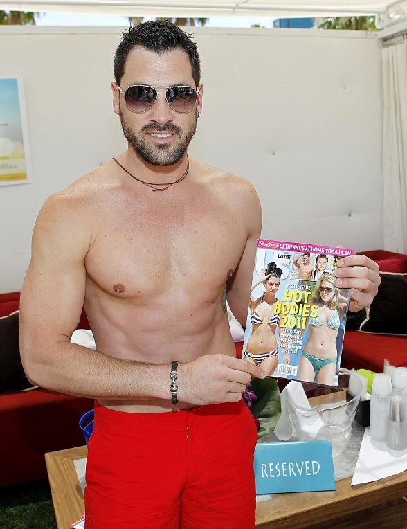 "Maksim Chmerkovskiy of ""Dancing with the Stars"" hosts Us Weekly party at WET REPUBLIC"