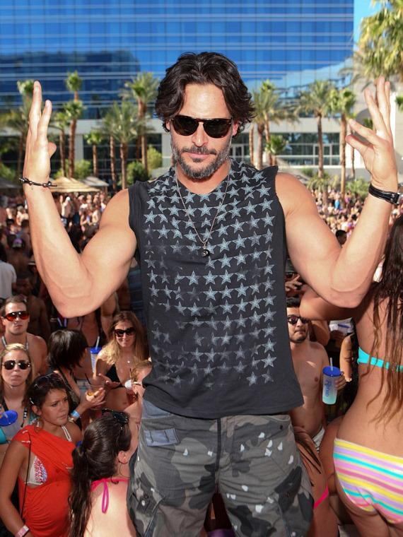 Joe Manganiello at Rehab at Hard Rock Hotel & Casino