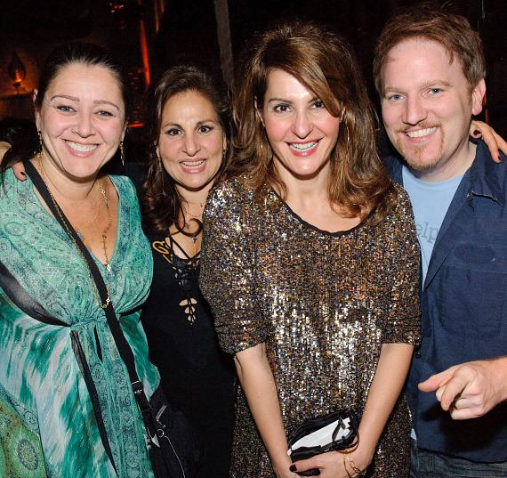 Camryn Manheim, Kathy Najimy, Nia Vardalos and Dan Finnerty at TAO
