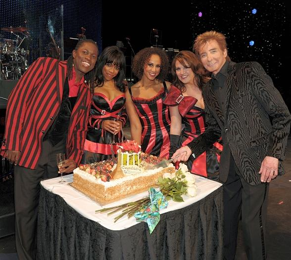 Barry Manilow Celebrates One Year Anniversary at Paris Las Vegas