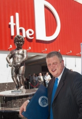 Belgium's Manneken Pis makes a Splash at the D Las Vegas as City's Longest Entertainment Residency