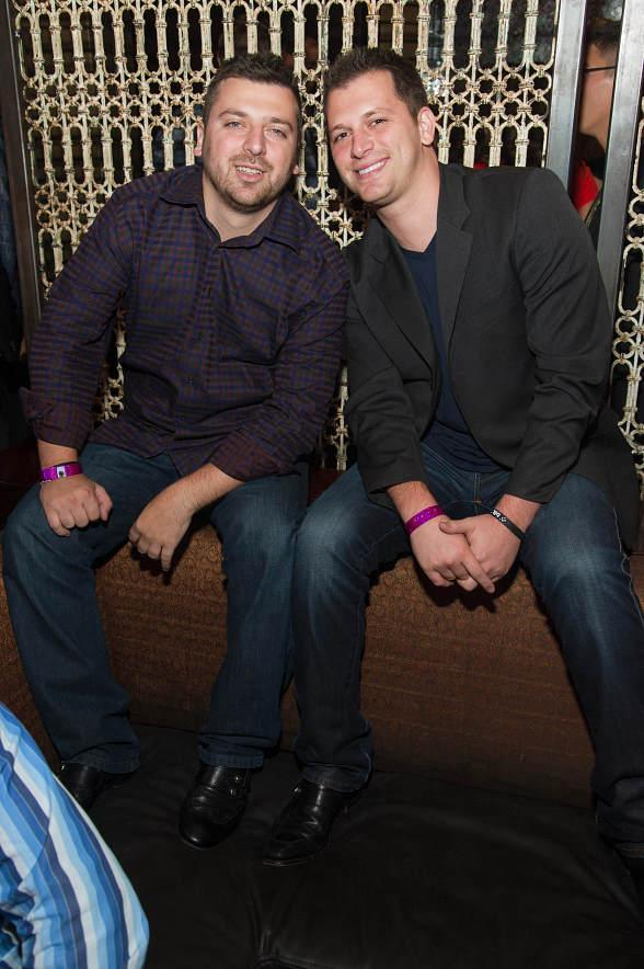 Albie and Chris Manzo at LAVO