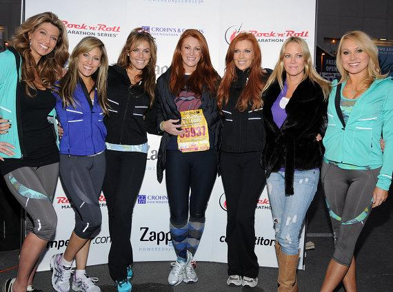 Angie Everhart, Angelica Bridges and other contestants