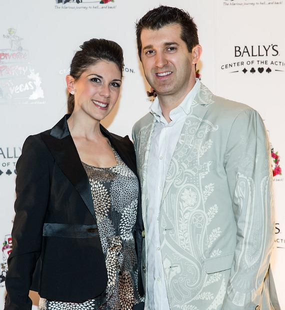 Marc Savard and wife Joanna