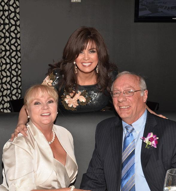 Marie Osmond surprises newlyweds at Center Cut Steakhouse at Flamingo Las Vegas