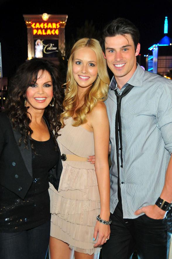 Marie Osmond, Sheridan Nicole Gregory and Adam Gregory