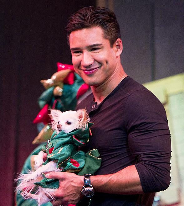 Mario Lopez Attends Rose.Rabbit.Lie. at The Cosmopolitan of Las Vegas