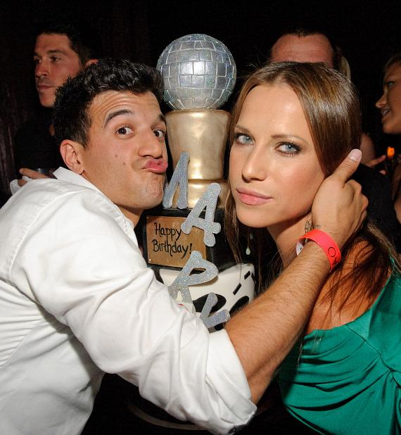 Mark Ballas and Edyta Sliwinskya at TAO