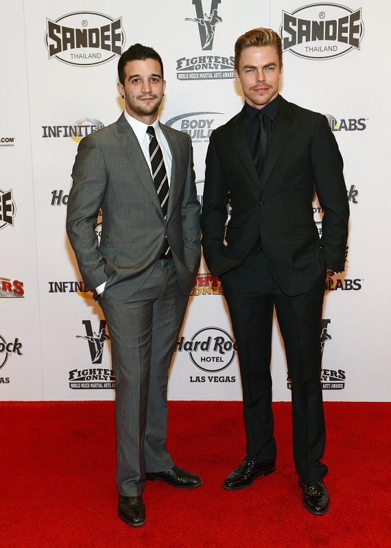 Mark Ballas and Derek Hough at Fighters Only World MMA Awards