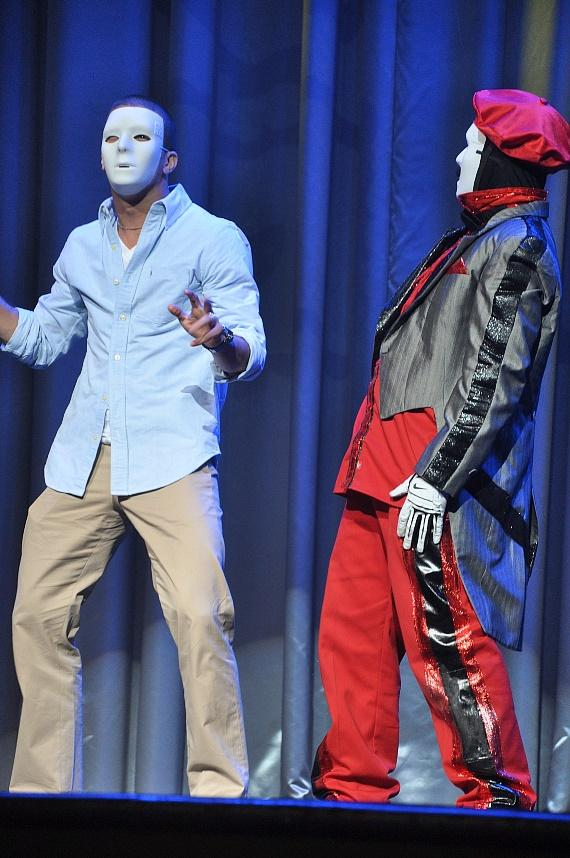 "Mark Ballas from ""Dancing With The Stars"" at Jabbawockeez Show"