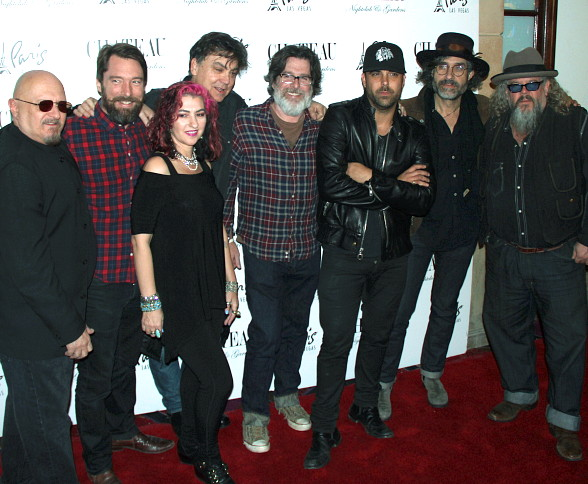 "Mark Boone Junior Rocks Out ""Sons of Anarchy"" Style at Chateau Nightclub & Rooftop in Las Vegas"