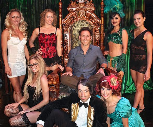 USA Network's Royal Pains Star Mark Feuerstein Spotted at ABSINTHE in Las Vegas