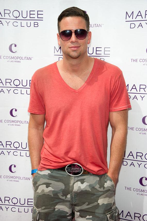 Mark Salling at the Marquee Dayclub Season Opening